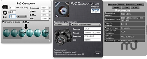 Screenshot 1 for PdC Calculator
