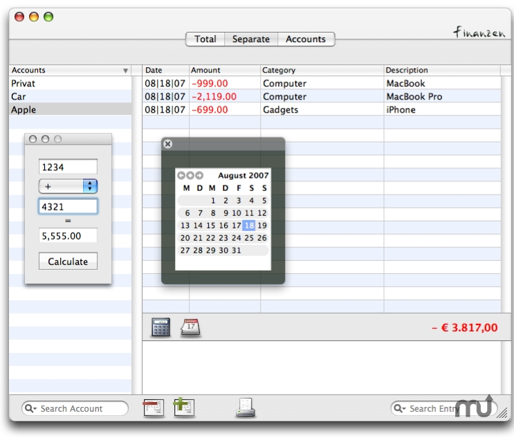 Screenshot 1 for Finanzen