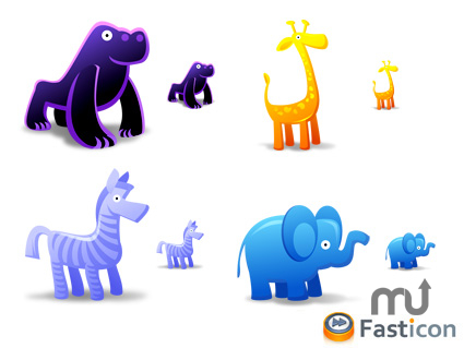 Screenshot 1 for Animal Toys Icons