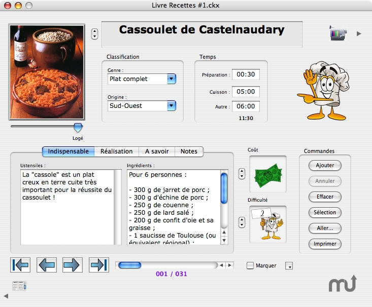 Screenshot 1 for CookiX