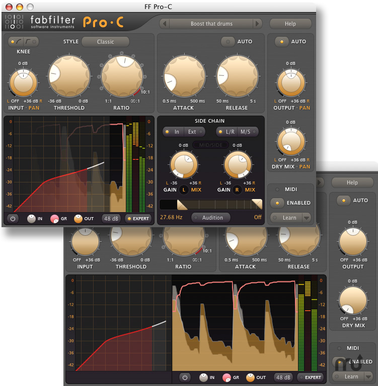 Screenshot 1 for FabFilter Pro-C
