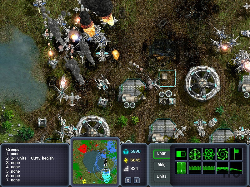 Screenshot 1 for Machines at War
