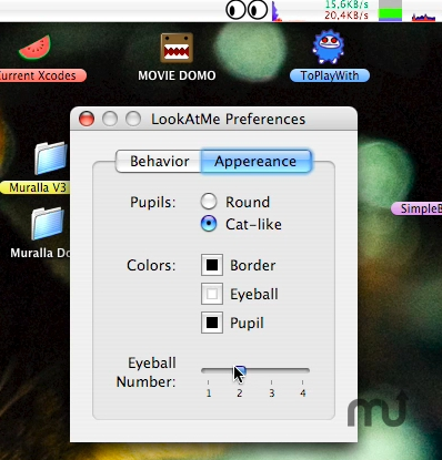 Screenshot 1 for LookAtMe!