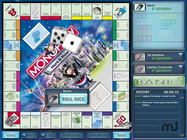 Screenshot 1 for Monopoly Here & Now