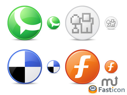 Screenshot 1 for Circle Social Bookmark Icons