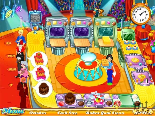 Screenshot 1 for Cake Mania