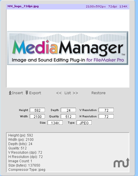Screenshot 1 for MediaManager