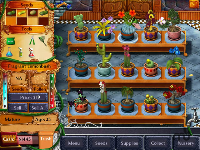Screenshot 1 for Plant Tycoon