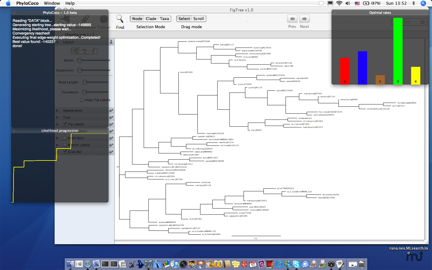 Screenshot 1 for PhyloCoco