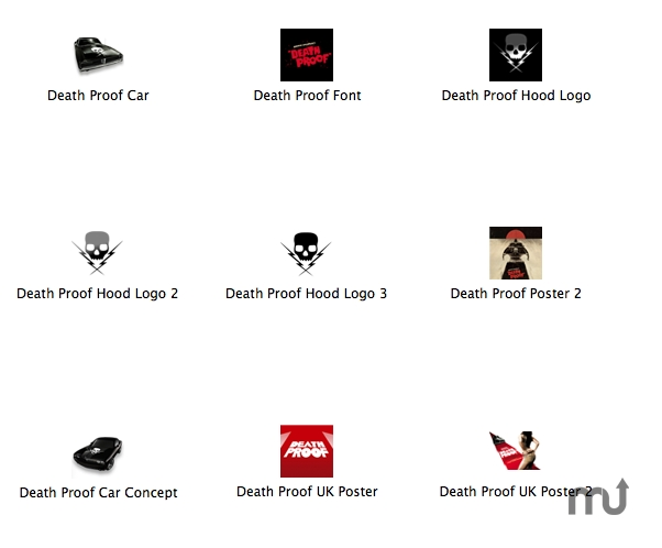 Screenshot 1 for Death Proof Icons