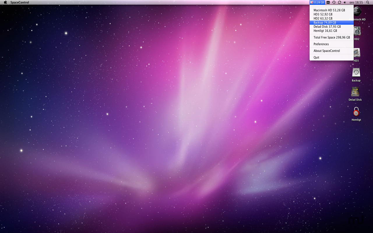 how to create more space on my mac other