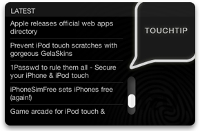 Screenshot 1 for Touchtip