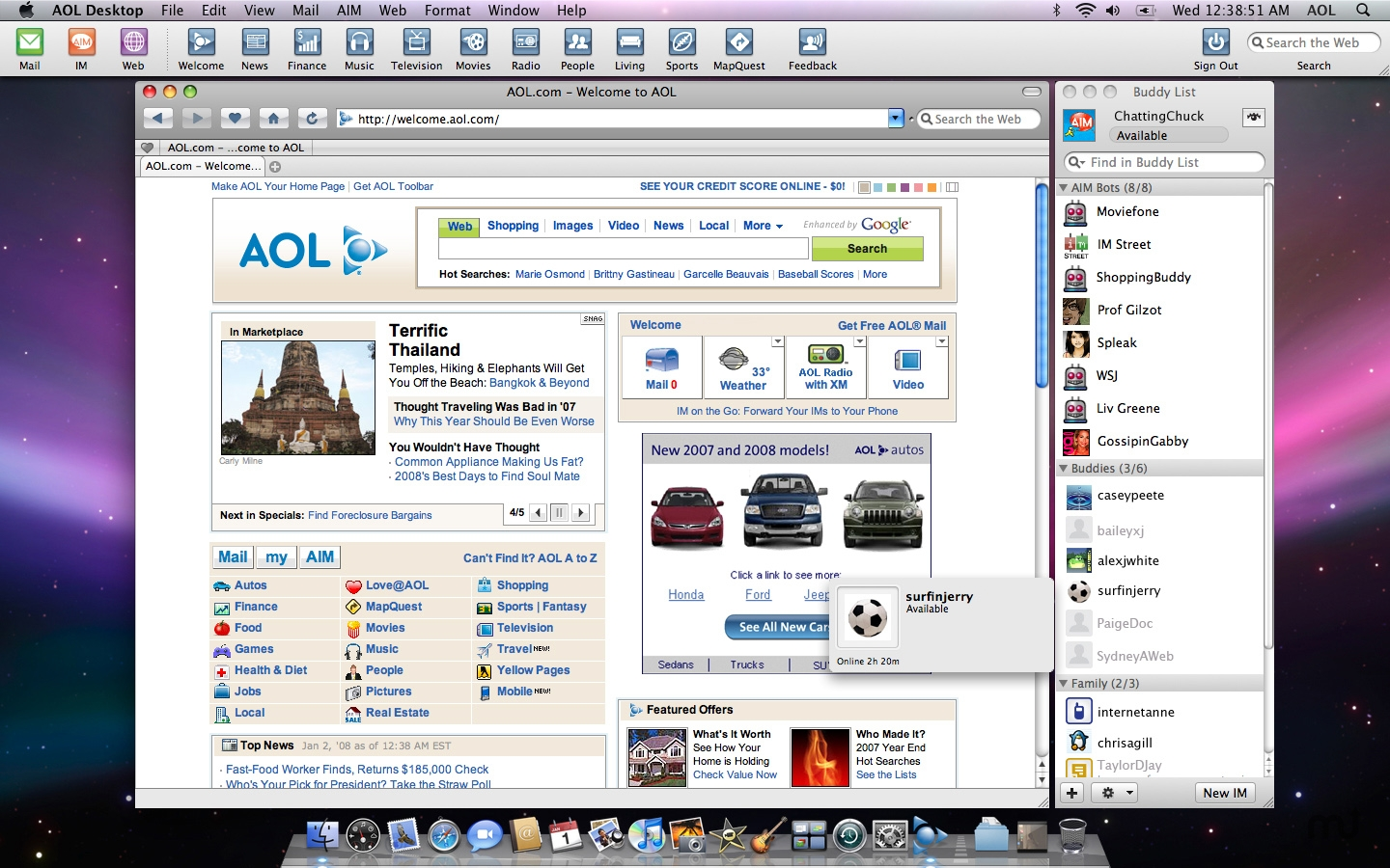 Download aol desktop old version