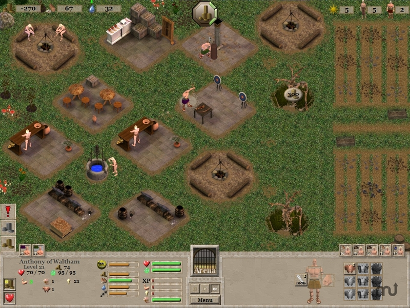 Screenshot 1 for Gladiator Trials II