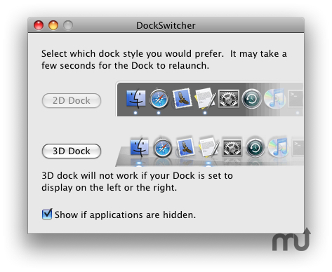 Screenshot 1 for DockSwitcher