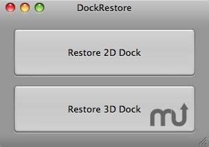 Screenshot 1 for DockRestore