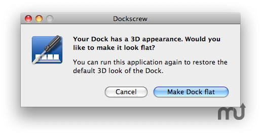 Screenshot 1 for Dockscrew