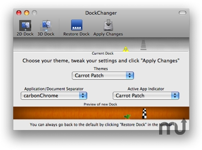 Screenshot 1 for DockChanger