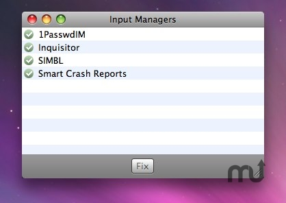 Screenshot 1 for Input Managers