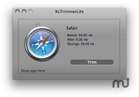 Screenshot 1 for XsTrimmerLite