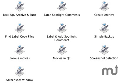 Screenshot 1 for Automator Fun Apps Set 4