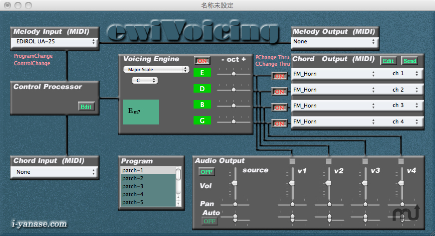 Screenshot 1 for ewiVoicing