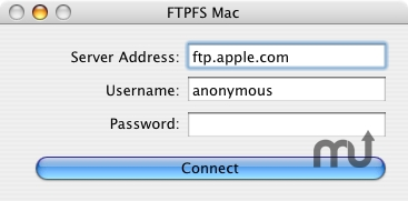 Screenshot 1 for FTPFS Mac