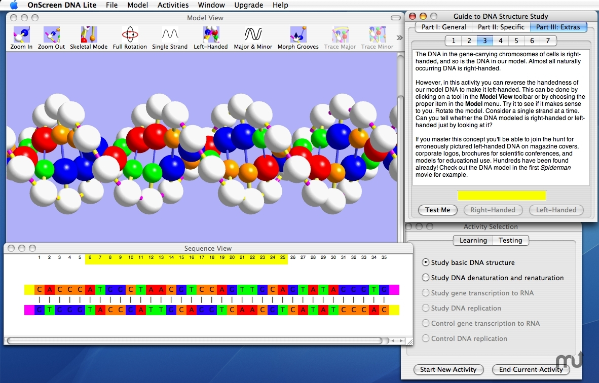 Screenshot 1 for OnScreen DNA Lite