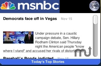 Screenshot 1 for MSNBC Top Stories
