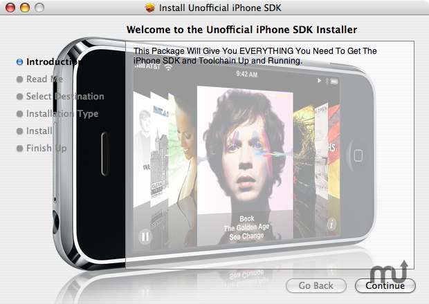 Screenshot 1 for iPhone SDK Install