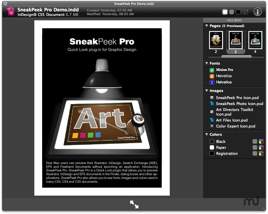 Screenshot 1 for SneakPeek Pro