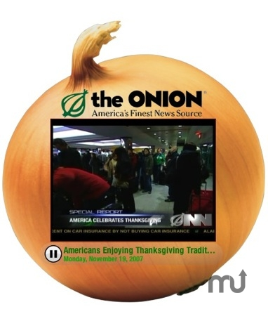 Screenshot 1 for The Onion Radio News Network Video Podcast