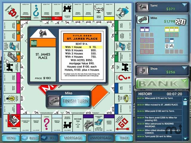 Screenshot 1 for Monopoly