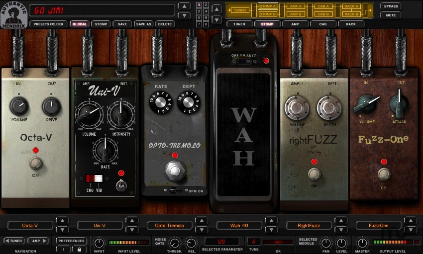 Screenshot 1 for AmpliTube Jimi Hendrix