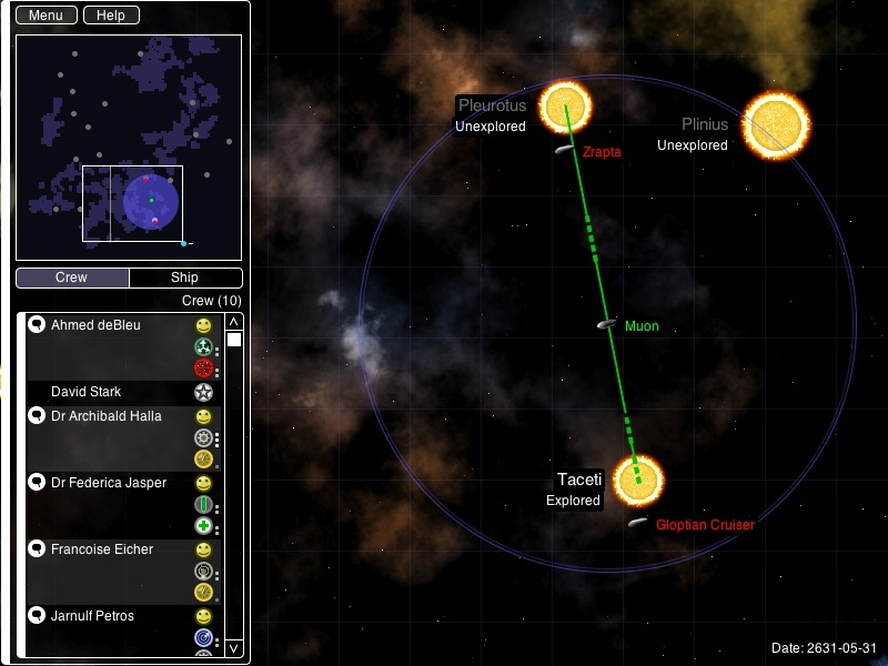 Screenshot 1 for Space Exploration