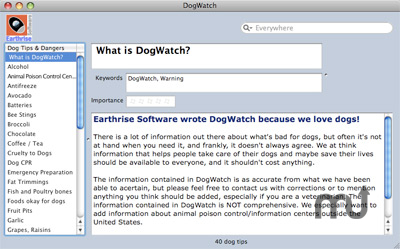 Screenshot 1 for DogWatch