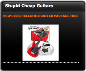 Screenshot 1 for Stupid Cheap Guitars Deal of the Day Widget
