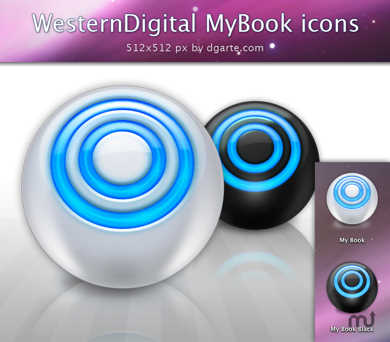 Screenshot 1 for MyBook Icons Sphere