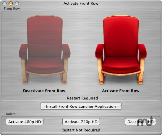Screenshot 1 for Activate Front Row