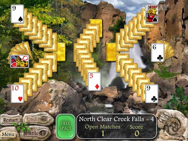Screenshot 1 for Waterscape Solitaire: American Falls