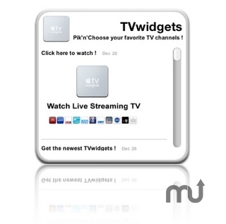 Screenshot 1 for TVwidgets