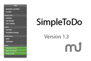Screenshot 1 for SimpleToDo