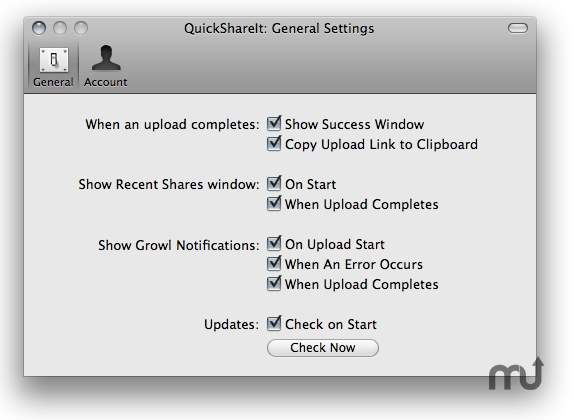 Screenshot 1 for QuickShareIt