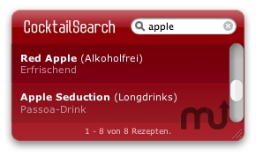 Screenshot 1 for CocktailSearch