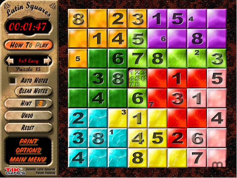 Screenshot 1 for Sudoku - Latin Squares