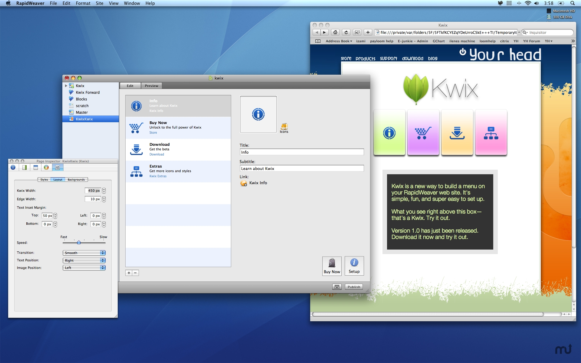 Screenshot 1 for Kwix