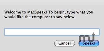 Screenshot 1 for MacSpeak