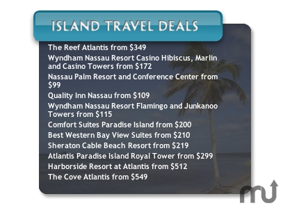 Screenshot 1 for Island Travel Deals