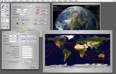 Screenshot 1 for Space Trajectory Analysis