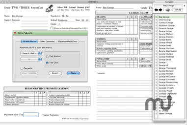Screenshot 1 for Report Card Pro
